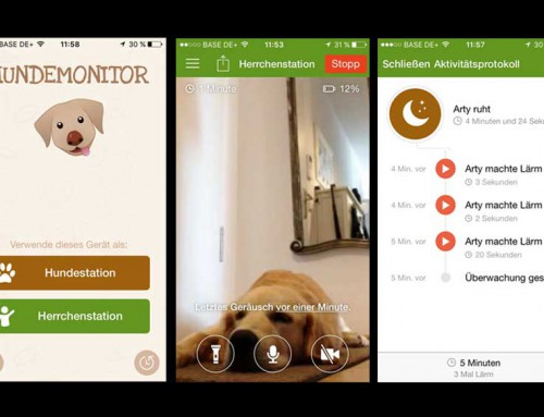 Tolle Hunde Apps – Hundemonitor